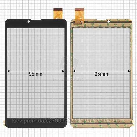 Сенсор для Assistant AP-755G Original Black 30 pin (184 * 104 мм) #GT70PG172/XLD708-V0, фото 2