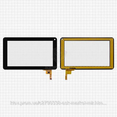 Сенсор для IconBIT NetTAB Sky Net NT-0701S Original Black 12 pin (186 * 111 мм) #FPC-TP070072(DR1334)/AWX-1305, фото 2