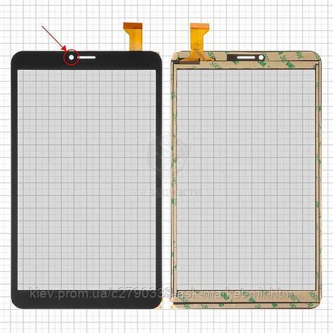 Сенсор для Nomi C080010 Libra 2 Original Black 30 pin (204 * 120 мм) #DP080133-F1/YLD-CEG8805-FPC-A1, фото 2