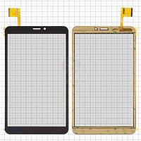 Сенсор для Prestigio MultiPad 3408 Wize 4G, MultiPad 3508 Wize 4G, MultiPad 3608 Wize 4G Original Black 51 pin (204 * 120 мм) #ZYD080-64V01