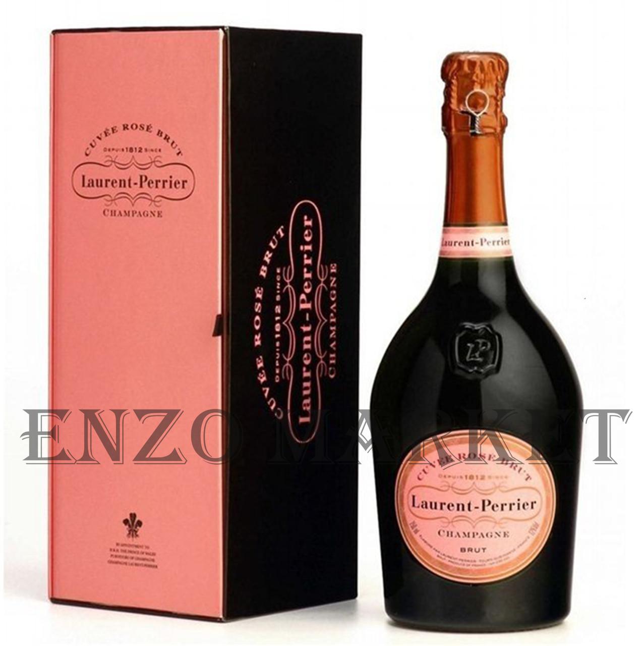 Шампанское Laurent Perrier Cuvee Rose (Лоран Перье Роуз) 12%, 0,75 литра
