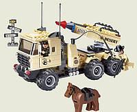 Конструктор Brick 822 Машина с ракетной установкой, 310 деталей