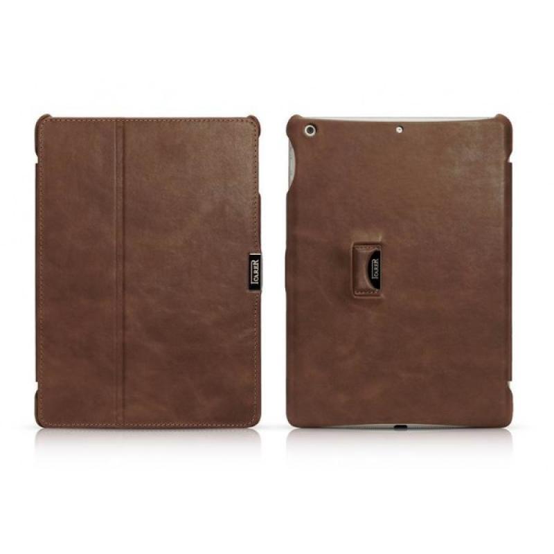Обложка iCarer RID504 для iPad Air Vintage Brown. Red