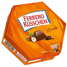 Ferrero Küsschen Klassic Шоколадные конфеты с фундуком 178g