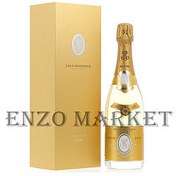 Шампанское Cristal Louis Roederer Brut 2008 (Кристал Луи Родерер Брют 2008 год) 12%, 0,75 литра