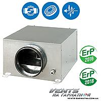 Вентс КСБ 200 С У. Шумоизолированный вентилятор с регулятором скорости и температуры, фото 1