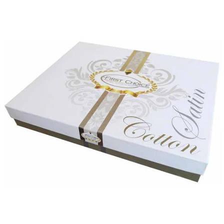 Комплект постельного белья First Choice Satin Calisto pudra, фото 2