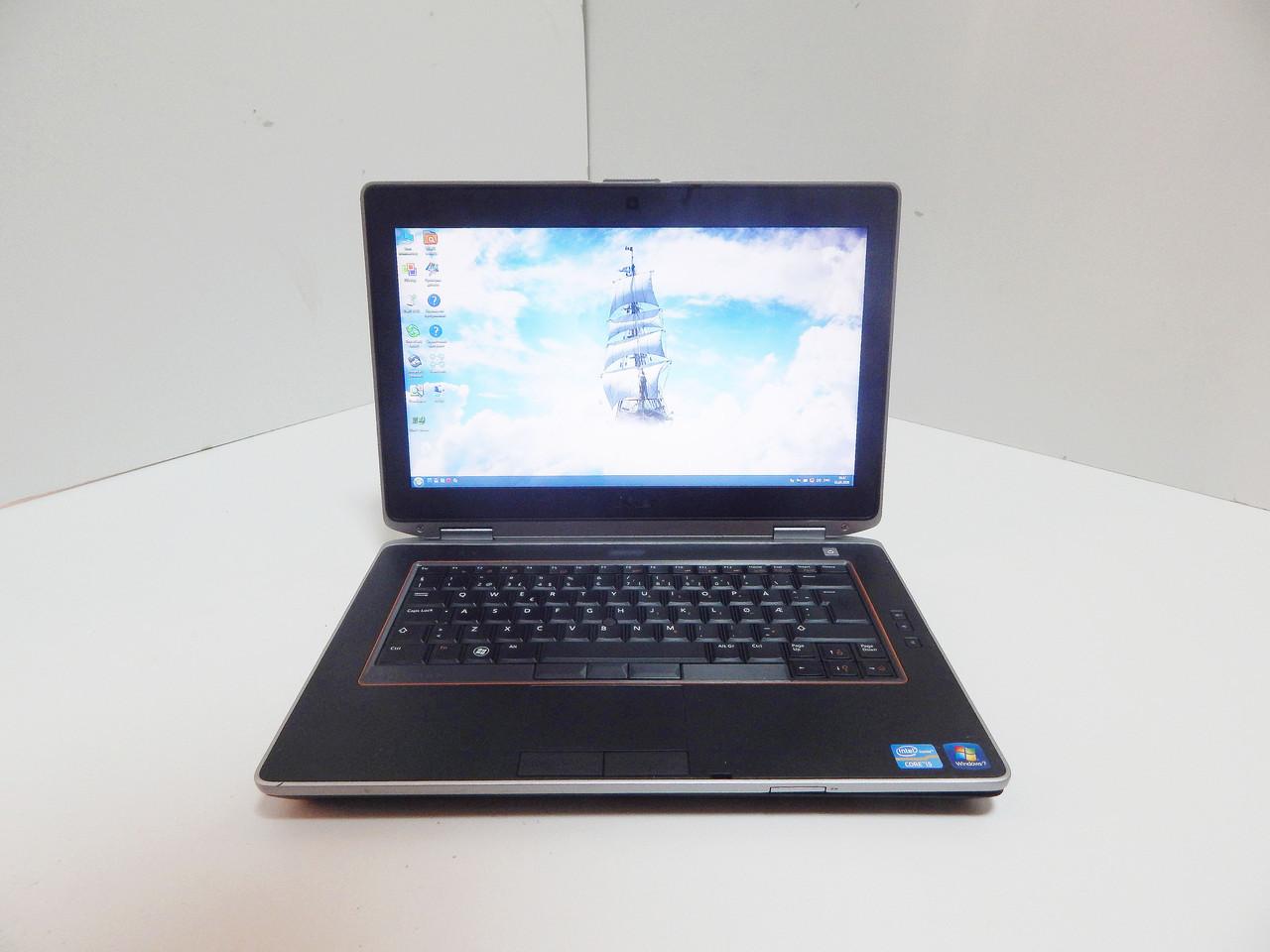 "Ноутбук Dell E6420 14"" LED / Intel Core i7-2620M (3.4 ГГц) / 8 ГБ /SSD 128 ГБ /Intel HD Graphics 3000"