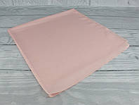 Шелковый шейный платок Accessories 0011-13 пудровый однотонный, фото 1