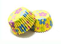 Тарталетки бумажные Цветочки 5х3 см 1000 шт
