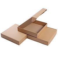 Картонные коробки 200x200x85 бурые