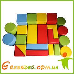Детский мягкий конструктор большой Kidigo Игра (22 детали Premium)