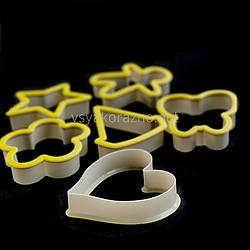 Формы для печенья - вырубка для пряников (6 шт) / Форми для печива - вирубка для пряників (6 шт)