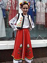 Костюм дівчачий молдавський