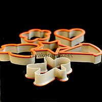 Формы для печенья - вырубка для пряников 6 шт (Maestro) (10455)