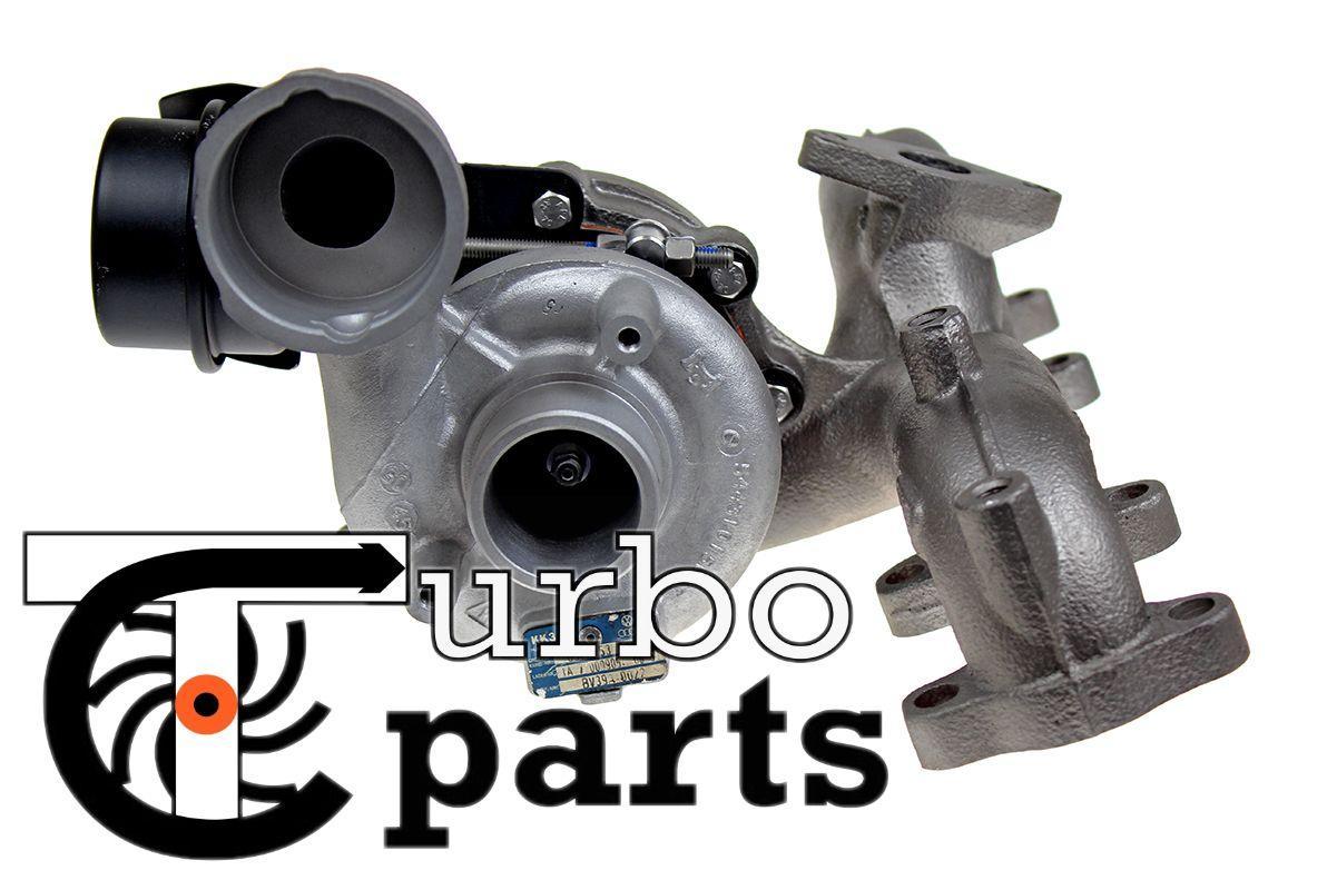 Оригинальная турбина Audi A3 1.9 TDI от 2002 г.в. - 751851, 54399700022, 54399700011