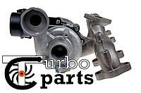 Оригинальная турбина Audi A3 1.9 TDI от 2002 г.в. - 751851, 54399700022, 54399700011, фото 1