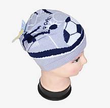 "Шапка ""Football"" на мальчика (WD1630)   5 шт., фото 2"