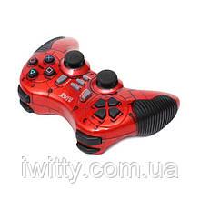 Геймпад игровой 2.4G Wireless для PS2 PS3 PC Android TV Box (красный)