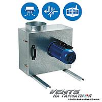 Вентс КСК 150 4Д. Центробежный вытяжной кухонный вентилятор в шумоизолированном корпусе
