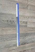 Линейка металлическая 60 см для разметки кожи