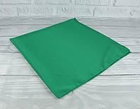 Шелковый шейный платок Accessories 0011-15 зеленый однотонный, фото 1