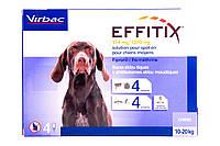 Капли от блох, клещей и насекомых Эффитикс® Спот-он (EFFITIX®) для собак 10-20 кг піп 2,2мл №4