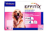 Капли от блох, клещей и насекомых Эффитикс® Спот-он (EFFITIX®) для собак 20-40 кг піп 4,4мл №4