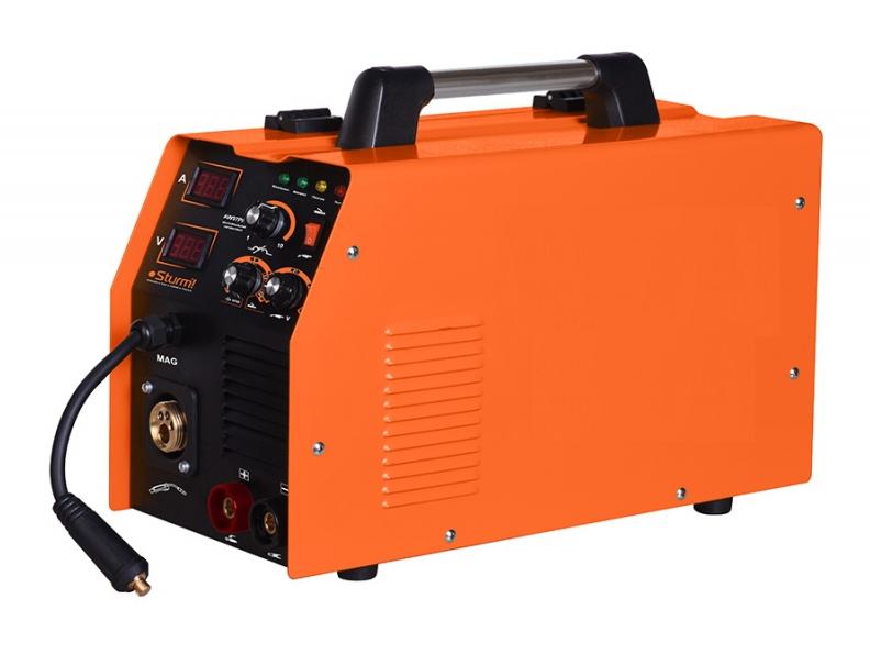 Сварочный инверторный полуавтомат (MIG/MAG,MMA, 280А) Шт-урм аW97ра280