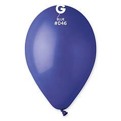 """Куля 10"""" (25 см) Gemar пастель 46 синій (Джемар)"""