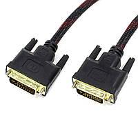 Компьютерный кабель Lesko DVI-DVI 1.5m цифровой для ноутбука компьютера пк PC аудио кабель звуковой