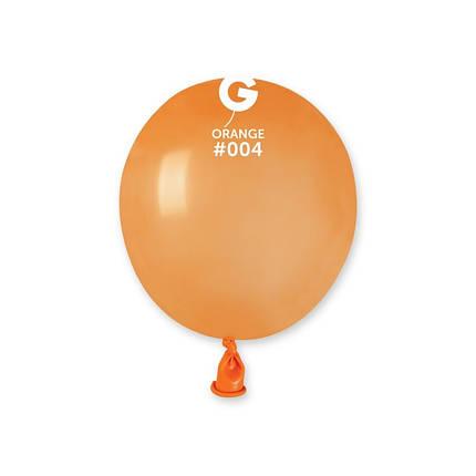 "Куля 3"" (8 см) Gemar пастель 04 помаранчевий (Джемар) Бомбочка, фото 2"