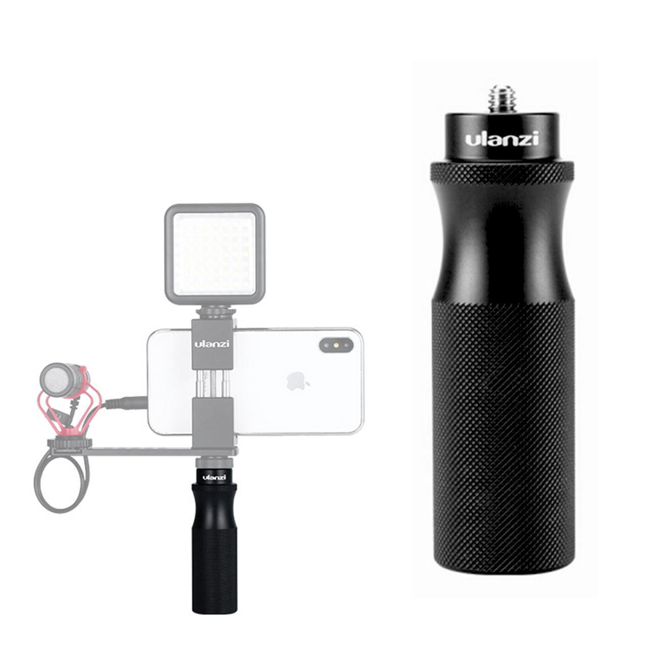 Универсальная ручка держатель Ulanzi U-40 металлическая с 1/4 дюймовым винтом для смартфона экшн камер