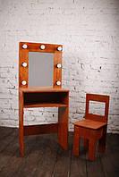 """Комплект дитячий гримерний """"Лофт"""" (стіл та стілець) (416)"""