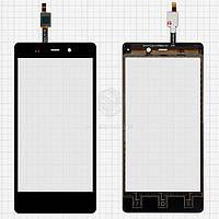 Сенсор для Fly IQ453 Quad Luminor FHD Оригинал Черный #1224TCM43E59V2.0 5415K FPC-1