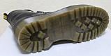 Ботинки, мартинсы женские демисезонные кожаные от производителя модель НБ23Д, фото 6