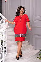 Платье женское нарядное с пайеткой в расцветках 39351, фото 1