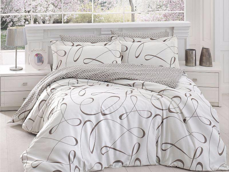 Комплект постельного белья First Choice Satin Calisto crem
