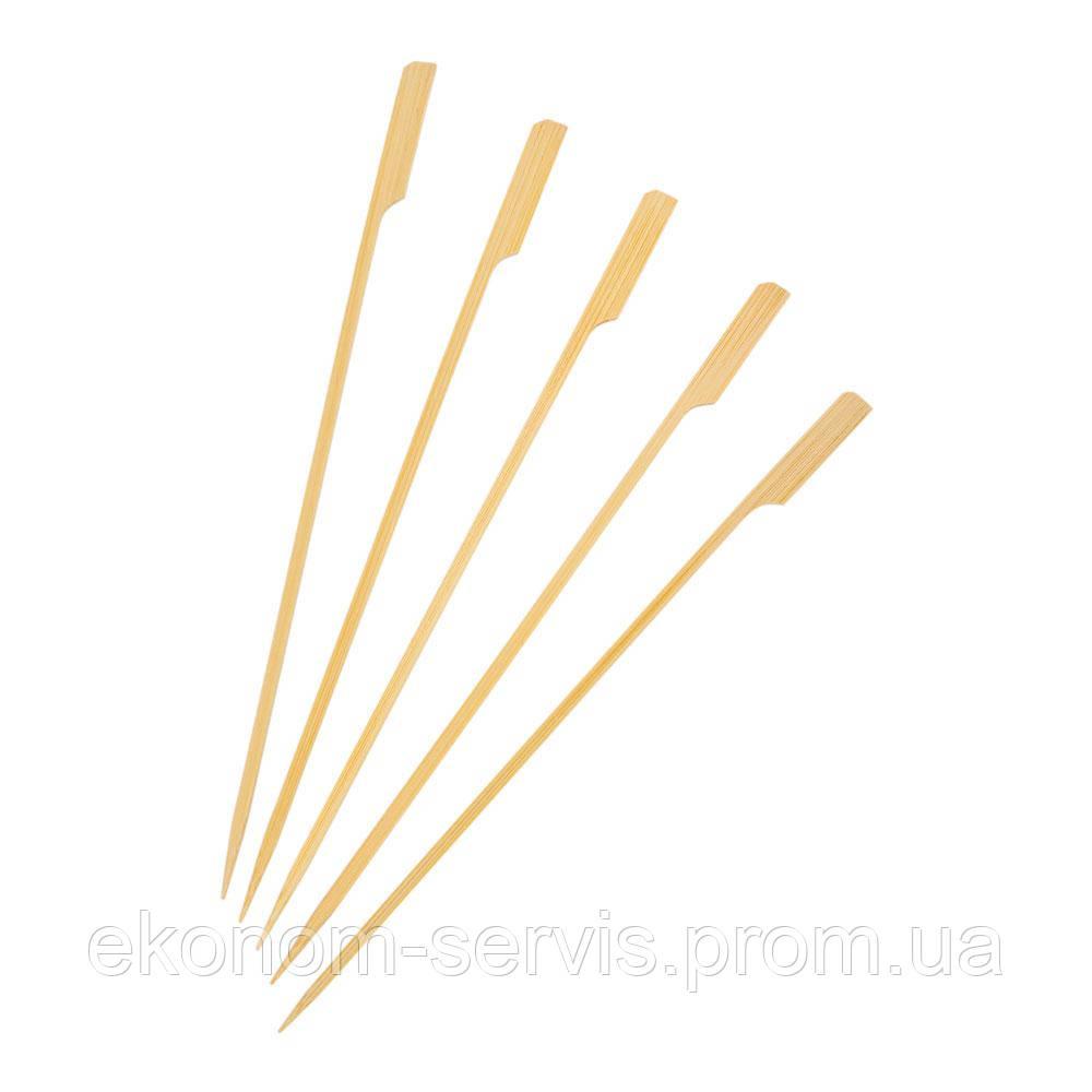 Шпажка деревянная Весло 12см, 100шт
