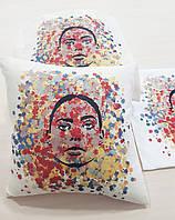 Подушка   в подарок Девушка креатив, 40х40см