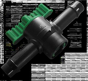 Миникран линейный. Соединитель для трубки 13мм (1шт), DSA-4413