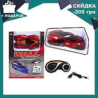 Антигравитационная машинка Climber CAR MX-01 красная | радиоуправляемая машинка с пультом ДУ ездит по стенам, фото 1