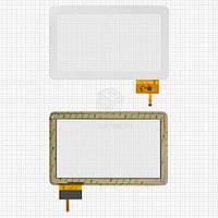 Сенсор для Globex GU110A Оригинал Белый 12 pin (257 * 159 мм) #OPD-TPC0057/AD-C-100050-1-FPC/J-DR10011