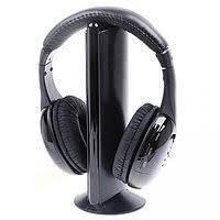 Беспроводные наушники МН2001 5в1 + FM радио