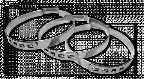 Хомут зажимной бесступенчатый BSY 22,6-25,4мм / 10мм, BSY254