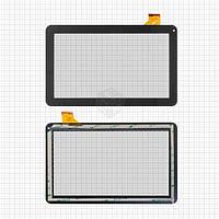 Сенсор для Prestigio MultiPad 3011 Wize 3G, MultiPad 3021 Wize, MultiPad 3031 Wize Оригинал Черный 45 pin (256 * 159 мм) #PB101A2595