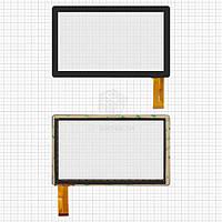 Сенсор для Globex GU703C Оригинал Черный 30 pin (173 * 105 мм) #8Q-HD/ZHC-Q8-057A/CZY6075A-FPC