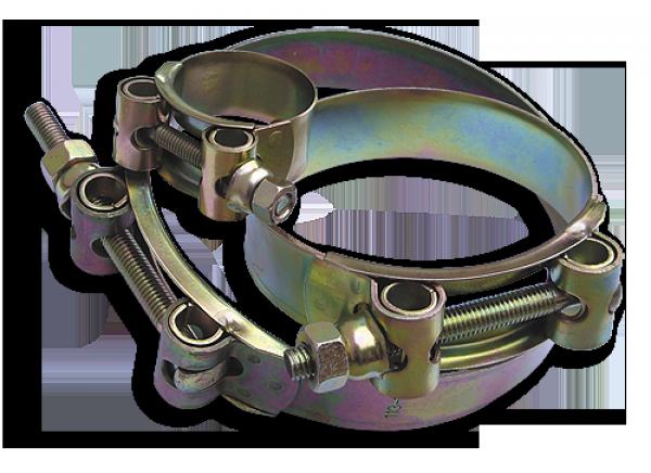 Хомут силовий одноболтовий GBSH W1 122-130/24 мм, GBSH122-130