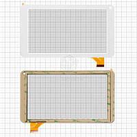 Сенсор для Globex GU730C Оригинал Белый 30 pin (186 * 104 мм) #LH5920/TPT-070-229 FHX/FPC-TP070215(708B)-00/BLX 269/FM711501KA
