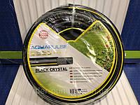 """Шланг для полива BLACK CRISTAL 1"""" (бухта 50 м.) FITT"""